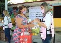 Margarita Moreno entrega dotaciones alimentarias a más de 40 mil niños