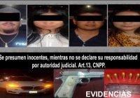 En Coquimatlán detienen a cuatro personas conarma de fuego y cartuchos