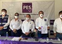 El PES no presentará candidato a la gubernatura de Colima, van con Indira Vizcaíno