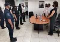 Terminan su bachillerato ocho elementos de la Policía Estatal