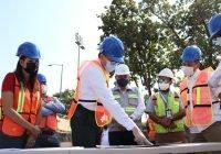 Supervisa Gobernador avance en construcciónde centro acuático