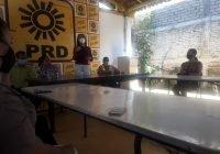 Se reúne Mely Romero con la militancia del PRD