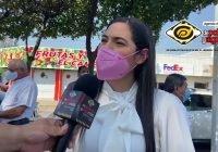 Este proceso electoral será histórico para Colima: Indira Vizcaíno