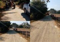 Rehabilita Salvador Bueno 15 kilómetros de caminos saca cosechas en Cofradía de Juárez