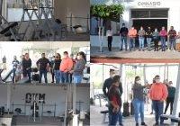 Inaugura alcalde Carlos Carrasco la primera etapa del gimnasio municipal en Ixtlahuacán