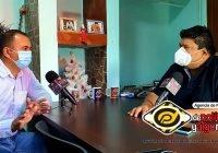 Morenistas encabezaran mi proyecto político en Tecomán: Armando Reyna Magaña