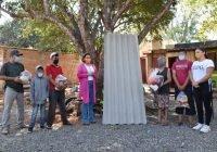 Mejoramos la vivienda de familias de las comunidades rurales: Azucena López Legorreta