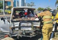 Tras accidente, hombre resulta lesionado en libramiento Ejercito Mexicano, Colima