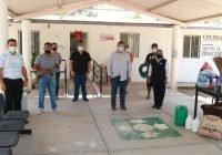 Se suma alcalde Carlos Carrasco en acción comunitaria de Zinacamitlán