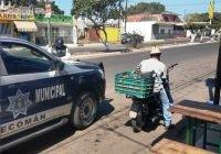 En Tecomán aplican operativo para contra motos con escape ruidoso y sin papeles en regla