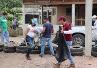 """Atiende comuna, habilitación de espacios públicos en callejones a través del programa """"Limpiemos Tecomán"""""""