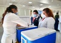 Llegan 5 mil 630 dosis de vacuna contra Covid-19 a Colima para aplicar a adultos mayores