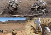 Encuentran 58 cuerpos de migrantes enterrados en Sonora, México