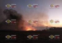 Se incendia invernadero rumbo a la Alzada, en Cuauhtémoc