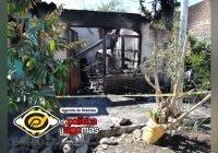 Rescatan a una adulta mayor de morir quemada tras incendio de su vivienda en VdA