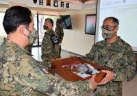 La Secretaría de Marina-Armada de México realiza Ceremonia de Cambio de Mando de Armas en la Fuerza Naval del Pacífico