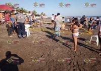 Joven pierde la vida tras ahogarse en playa El Paraíso, en Armería