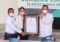 Nueva Alianza designa a Indira Vizcaíno candidata a la gubernatura