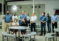 Locho Morán mejora las condiciones laborales y las instalaciones de la Policía Municipal de Colima.