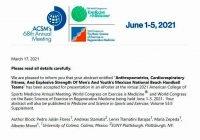 Participará UdeC en congreso mundial de medicina y deporte