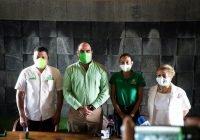 Se suma Guty Morales al partido Verde; agradece a Virgilio el respaldo