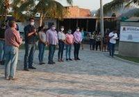 Inaugura el presidente Carlos Carrasco jardín de la colonia Gobernadores