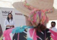 Indira: Soy la candidata con mejores resultados y más palabra