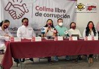 Presenta Indira Vizcaíno plan anticorrupción de Gobierno en Colima