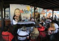 Vivirá Mely en Manzanillo el primer año de su gobierno para atender problemática