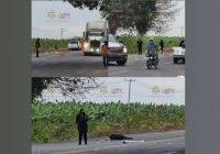 Una mujer muerta y un hombre lesionado, saldo de accidente rumbo a Cerro de Ortega