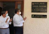 Dan nombre del ex rector Hernández Nava a Casa del Jubilado y Pensionado Universitario