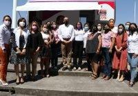 Gobernador inaugura Unidad Móvil Itinerante para atender a mujeres