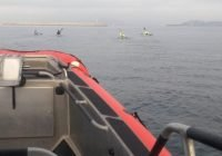 La Armada de México brindó seguridad marítima al zarpe de este Puerto a kayakista internacional