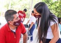 Somos el único cambio verdadero y la transformación real por el bien de Colima: Indira