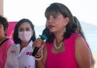 Anuncia Claudia Yáñez en Manzanillo, sólida estructura territorial para el Distrito 02 federal, locales y municipales