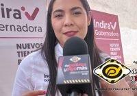 Las mujeres tenemos la capacidad y podemos ser un ejemplo: Indira Vizcaíno