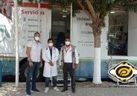 En Manzanillo, Unidad Médica Móvil dará consultas y pruebas PCR en Miramar, durante vacaciones
