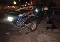 Un joven muerto, saldo de accidente vehícular en Villa de Álvarez; conductor huyó