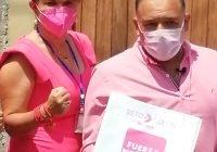 Con Roberto Rolón, en Villa de Álvarez, vamos con un proyecto ganador: Claudia Yáñez