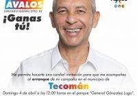 Óscar Ávalos buscará cuesta arriba ser Diputado Federal por el PRIAN