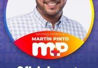 Martín Pinto Briceño, el joven líder que buscará ser diputado en el distrito XVI