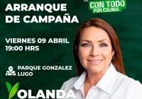 Yolanda Llamas arrancará campaña este viernes en el González Lugo, en Tecomán