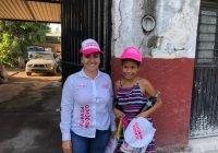 Cumpliré mi palabra de regresar y seguir atenta con los armeritenses; Sonia López