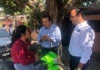Chamuco Anguiano se compromete a atender familias y jóvenes del corredor María Esther Zuno
