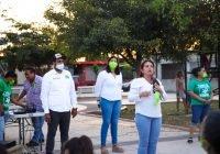Vecinos de la San José exigen servicio de agua potable de calidad y reparación de cancha techada a Yolanda Llamas