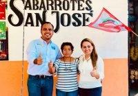 Blanca Acevedo, candidata por la coalición Va Por Colima visita negocios en el municipio de Ixtlahuacán