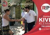 Ofrece Kive Kleiman un gobierno honesto y transparente