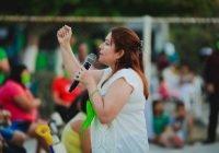 En La Indeco solicitan a Yolanda Llamas mejorar condiciones del servicio de alumbrado público
