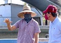 Elías Lozano reconoce productividad de acuacultores tecomenses, a quienes apoyará en gestiones