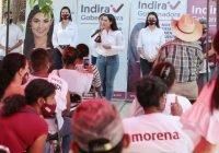 En Colima, Manzanillo y Tecomán, nuestro Gobierno hará centrales de abasto: Indira